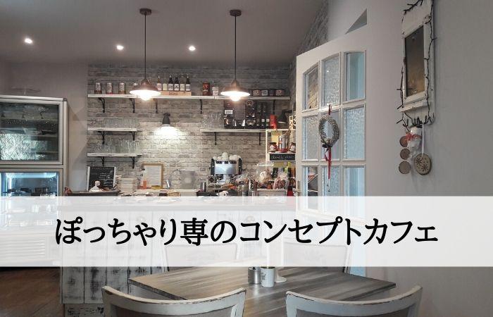 ぽっちゃり専のコンセプトカフェ