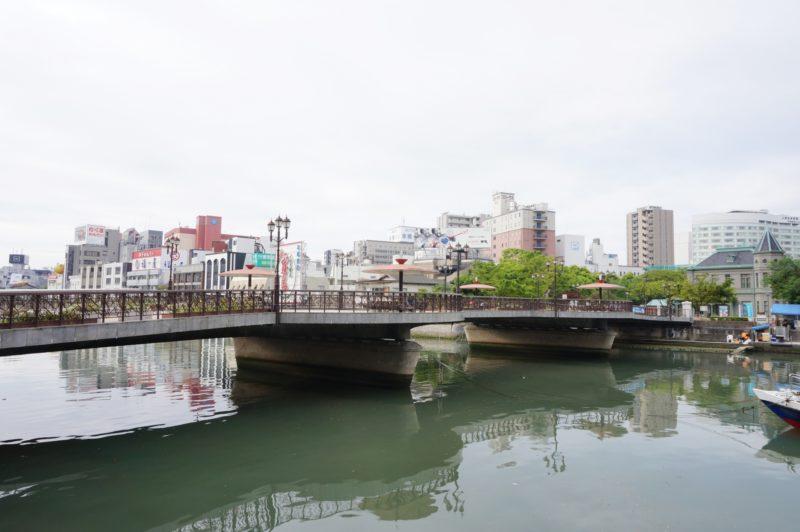 福岡の博多の出会い橋