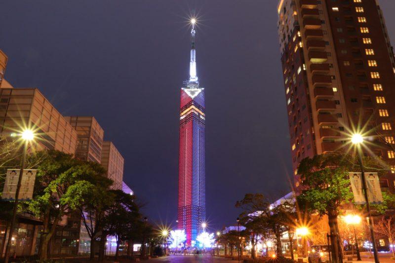 福岡タワーの夜景